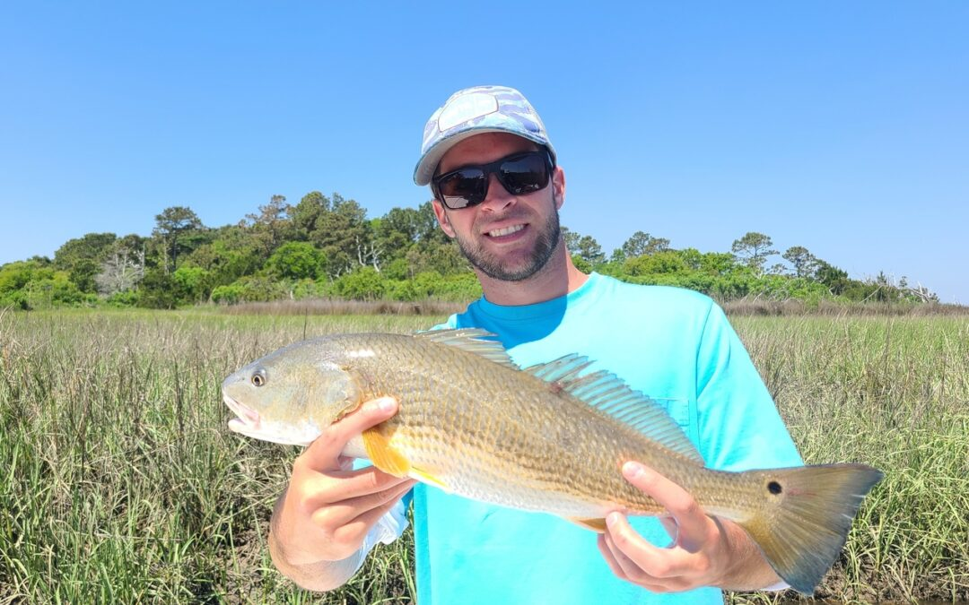 First Redfish…and more!