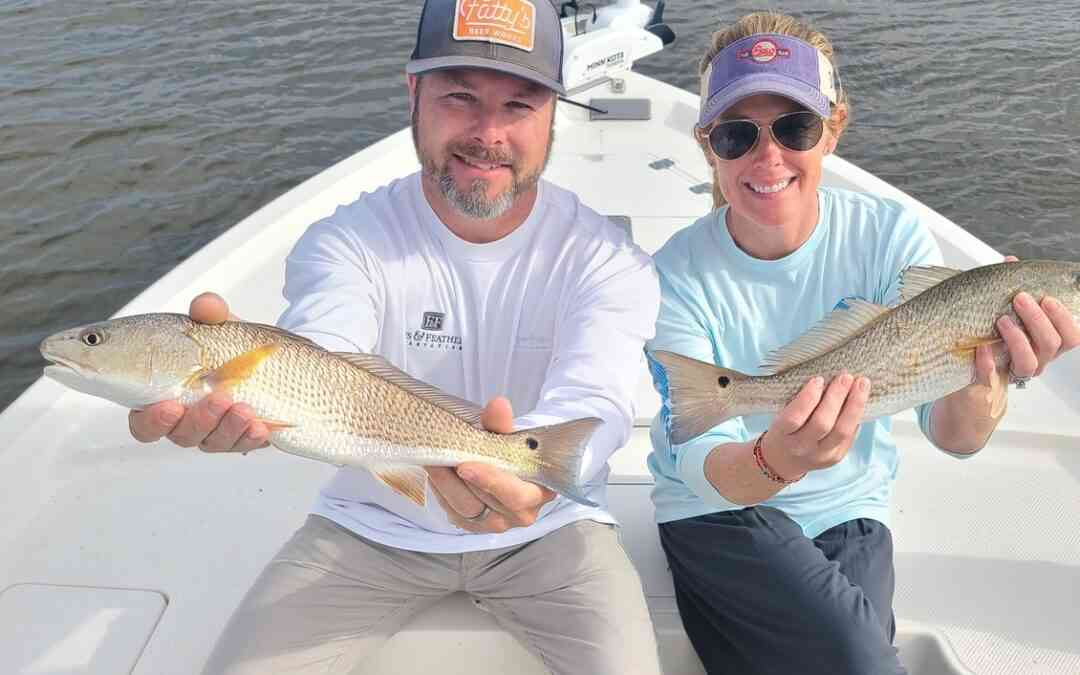 Redfish Make the Day Great